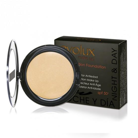 Maquillaje Protector Anti-edad Evolux 12g Nº42