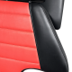 Sillón tatuaje hidráulico Premium negro y rojo