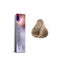 Tinte Illumina Color Wella 8/1 Rubio Claro Ceniza 60 ml