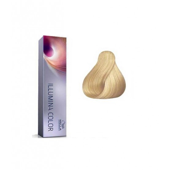 Tinte Illumina Color Wella 9/  Rubio Muy Claro 60ml