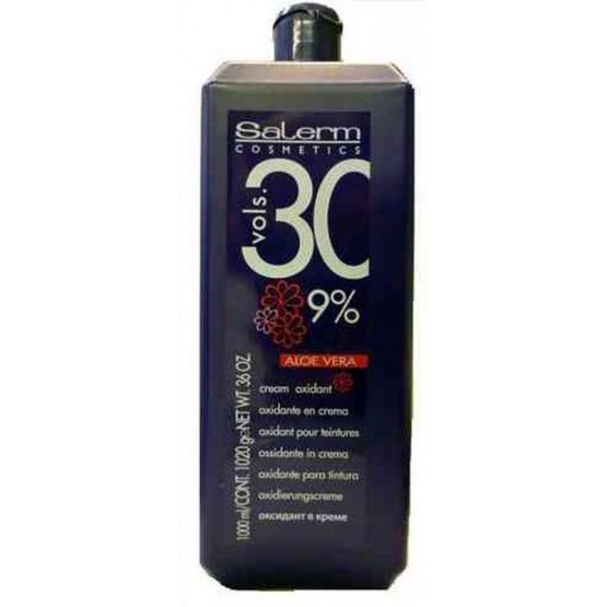 Agua Oxigenada Salerm 30vol (9%) 1000ml