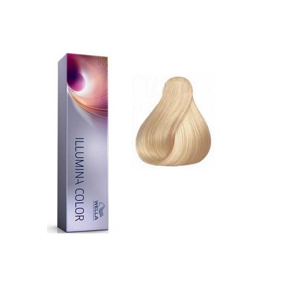 Tinte Illumina Color Wella 10/1 Rubio Super Claro Ceniza 60ml