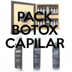 Pack tratamiento Botox + champú preparador + champú y acondicionador prolongador Valquer