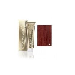 Tinte Montibello Cromatone Re.Cover 7.40 Cobre Fuego 60ml.