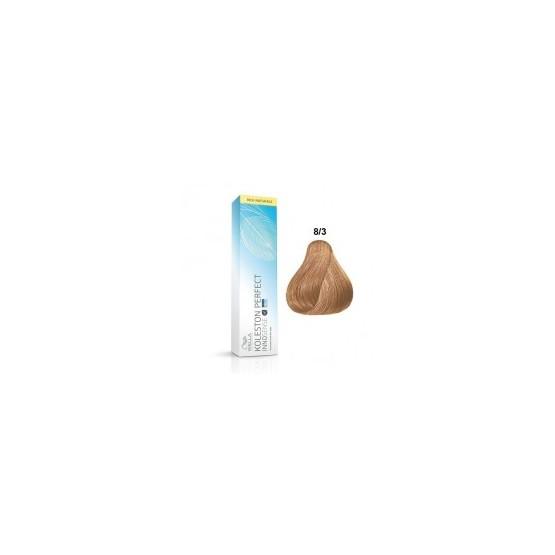 Tinte Koleston Perfect Innosense Rich Naturals 8/3 Rubio Claro Dorado 60ml
