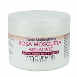 Crema Multinutritiva Rosa Mosqueta, Aguacate  Maurens 300ml