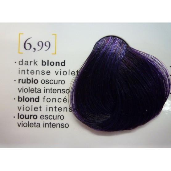 Tinte Salerm Visón 6,99 Rubio Oscuro Violeta Intenso 75ml