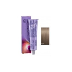 Tinte Illumina Color Wella 8/13 Rubio Claro Ceniza Dorado 60ml