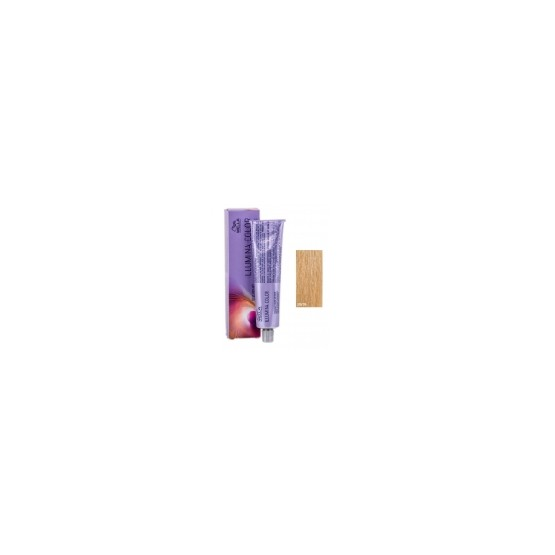 Tinte Illumina Color Wella 10/05 Rubio Super Claro Natural Caoba 60ml