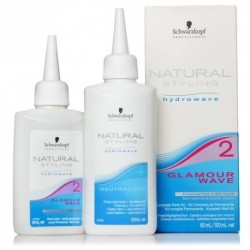 "Permanente ""Glamour Wave 2""  80 ml , Neutralizante 100 ml."