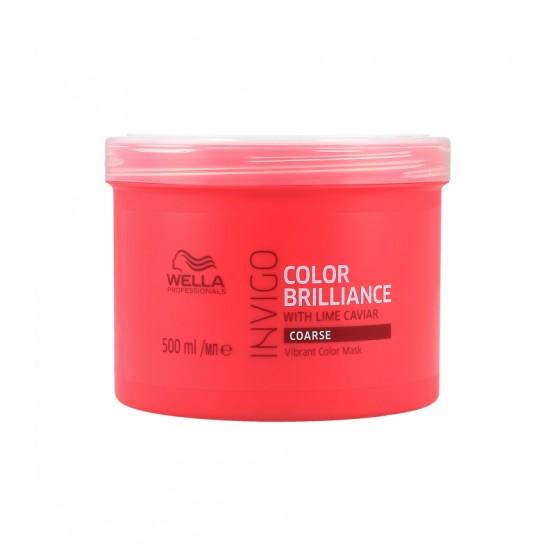 INVIGO COLOR BRILLIANCE Mask Coarse Hair de WELLA  500 ml