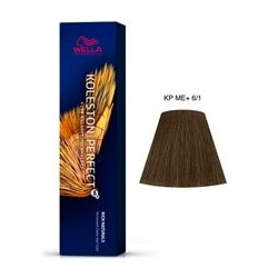 TINTE KOLESTON PERFECT ME+ WELLA 6/1 Rubio Oscuro Ceniza 60ml
