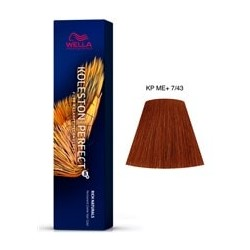 TINTE KOLESTON PERFECT ME+ WELLA 7/43 Rubio Medio Cobrizo Dorado 60ml