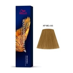 TINTE KOLESTON PERFECT ME+ WELLA  8/3 Rubio Claro Dorado 60ml