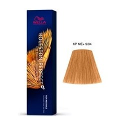 TINTE KOLESTON PERFECT ME+ WELLA 9/04 Rubio Super Claro Natural Cobrizo 60ml