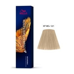 TINTE KOLESTON PERFECT ME+ WELLA  12/1 Superaclarante Rubio Ceniza 60ml