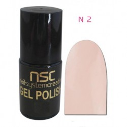 ESMALTE PERMANENTE GELLACK UV/LED AMAZING 5 ML Nº2 NSC
