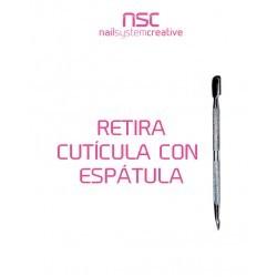 ESPÁTULA PROFESIONAL  DE ACERO NSC