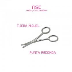 TIJERA NÍQUEL PUNTA REDONDA NSC