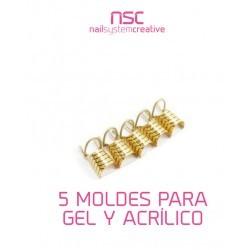 MOLDES DORADOS NO DESECHABLES NSC