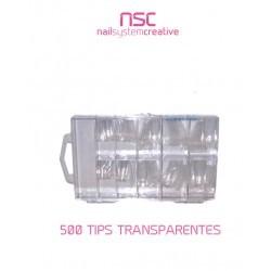 TIPS COLOR TRANSPARENTE NSC
