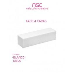 TACO BLANCO 4 CARAS NSC