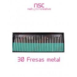 30 FRESAS METÁLICAS NSC