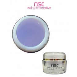 GEL UV DELUXE 15ML CLEAR VIOLETA NSC