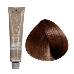 Tinte IGORA ROYAL TONOS NUDE 7-46 rubio medio beige chocolate 60ml
