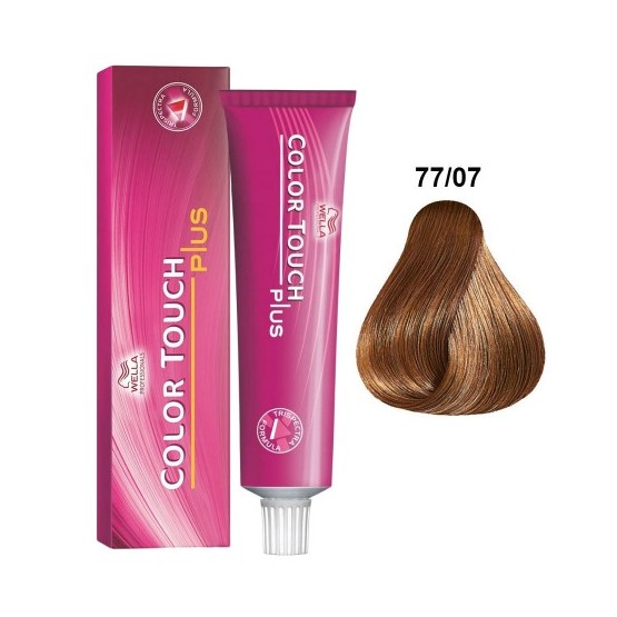 Ba o de color wella color touch plus 77 07 rubio medio - Bano de color wella ...