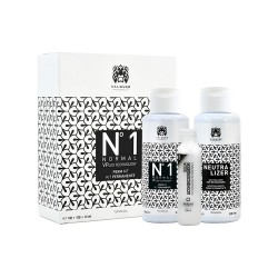 KIT PERMANENTE Nº 1 NORMAL (CABELLOS NORMALES) 100 ML VALQUER