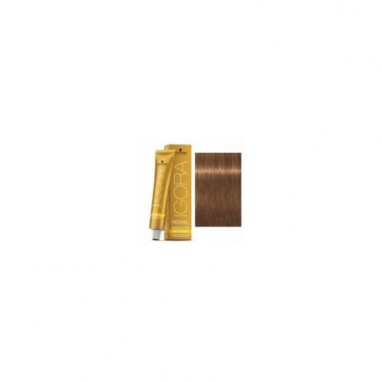 Tinte IGORA ROYAL ABSOLUTES 7-560 Rubio Medio Dorado Chocolate 60ml