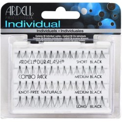 ARDELL Combo Pack Pestañas Individuales sin Nudo