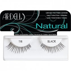 PESTAÑAS POSTIZAS ARDELL NATURAL 116 BLACK
