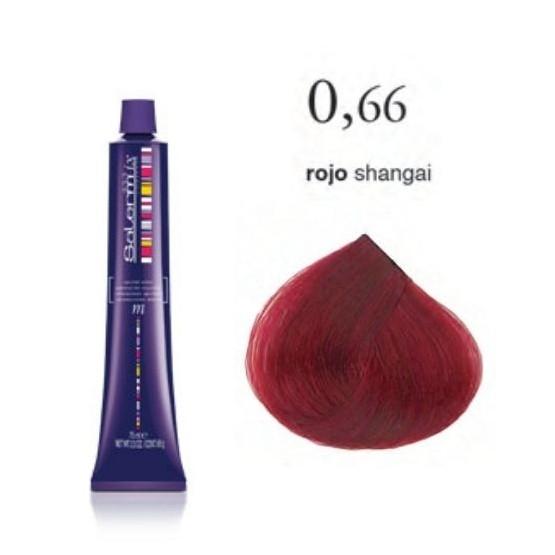 Tinte Salermix 0,66 Rojo Shangai 75ml