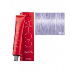 Tinte IGORA ROYAL 0-11 Tono Mezcla Argenta 60ml