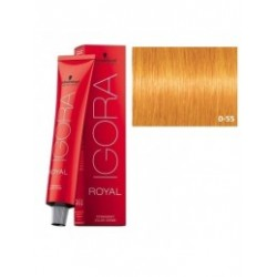 Tinte IGORA ROYAL 0-55 Tono Mezcla Dorado  60ml