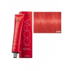 Tinte IGORA ROYAL 0-88 Tono Mezcla Rojo 60ml
