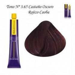 Tinte Salerm Visón 3,65 Castaño Oscuro Mora 75ml