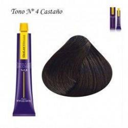 Tinte Salerm Visón 4 Castaño 75ml