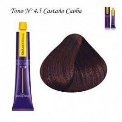 Tinte Salerm Visón 4,5 Castaño Caoba 75ml