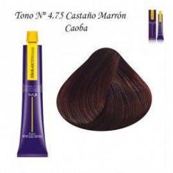 Tinte Salerm Visón 4,75 Castaño Marrón Caoba 75ml