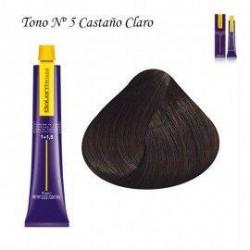 Tinte Salerm Visón 5 Castaño Claro 75ml