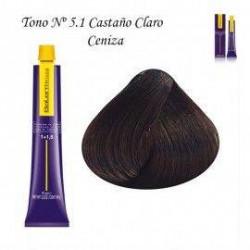 Tinte Salerm Visón 5,1 Castaño Claro Ceniza 75ml
