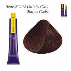 Tinte Salerm Visón 5,75 Castaño Claro Marrón Caoba 75ml
