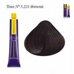 Tinte Salerm Visón 5,221 Brownie 75ml