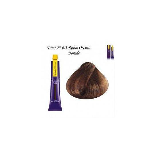 Tinte Salerm Visón 6,3 Rubio Oscuro Dorado 75ml