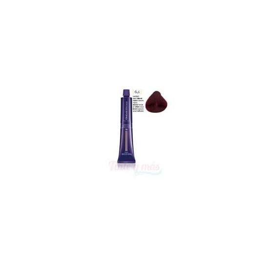 Tinte Salerm Visón 6,6 Rubio Oscuro Rojizo 75ml