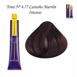 Tinte Salerm Visón 4,77 Castaño Marrón Intenso 75ml