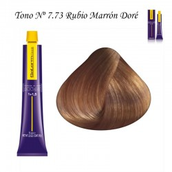 Tinte Salerm Visón 7,73 Rubio Marrón Dorado 75ml